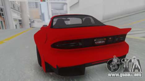 GTA 5 Bravado Banshee 900R Stock para GTA San Andreas left