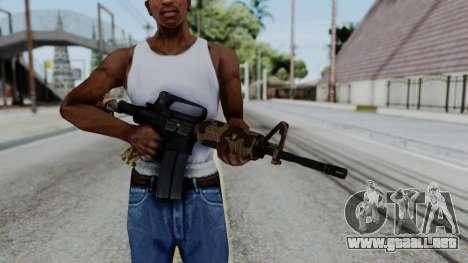 M16 A2 Carbine M727 v2 para GTA San Andreas tercera pantalla