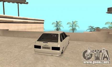 Vaz 2114 Armenian para la visión correcta GTA San Andreas
