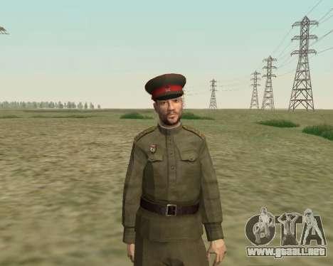 La colección de Soldados del ejército rojo para GTA San Andreas sexta pantalla
