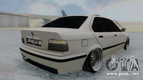 BMW 3-er E36 para GTA San Andreas left