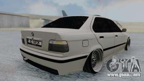 BMW 3-er E36 para GTA San Andreas left