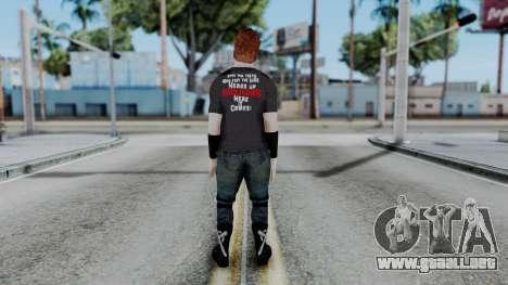 Sheamus Casual para GTA San Andreas tercera pantalla
