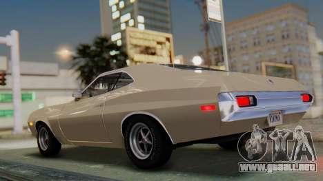 Ford Gran Torino Sport SportsRoof (63R) 1972 PJ2 para GTA San Andreas left