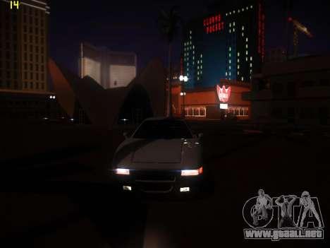 Siguiente ENB V1.0 por medio de la PC para GTA San Andreas sucesivamente de pantalla