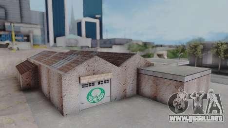 New Garage in San Fierro para GTA San Andreas sexta pantalla