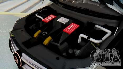 Brabus B63S para las ruedas de GTA San Andreas