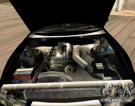 Nissan Skyline GT-R BNR32 Initial D Legend 2 N.K para la visión correcta GTA San Andreas