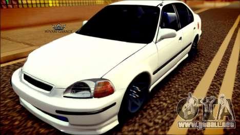 Honda Civic by Snebes para GTA San Andreas