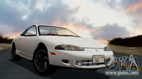 Mitsubishi Eclipse GST 1995 para GTA San Andreas left