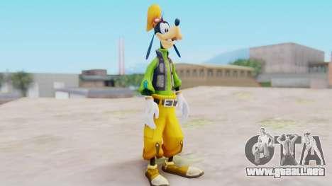 Kingdom Hearts 2 Goofy Default para GTA San Andreas segunda pantalla