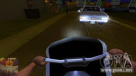 La primera persona a la v3.0 para GTA San Andreas tercera pantalla