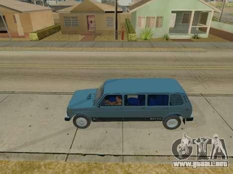 ВАЗ 2131 7-puerta [HQ Version] para GTA San Andreas left