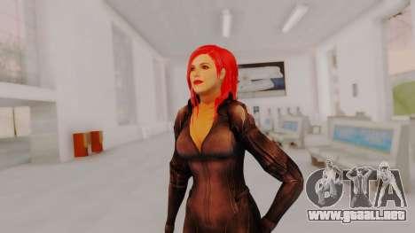 Scarlet Johansson - Black Widow para GTA San Andreas