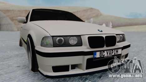 BMW 3-er E36 para la visión correcta GTA San Andreas