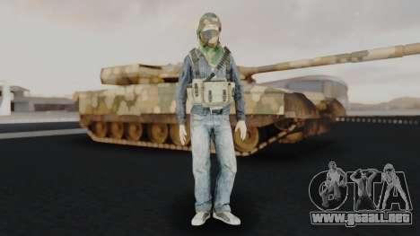 Somalia Militia Woodland Camo para GTA San Andreas segunda pantalla