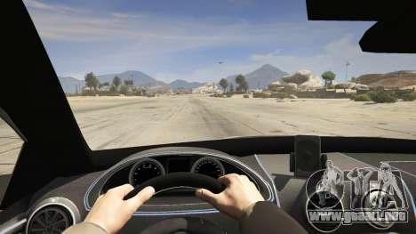 GTA 5 2014 Police Skoda Octavia VRS Hatchback vista trasera