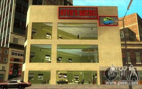 La reactivación de la concesionaria de automóvil para GTA San Andreas