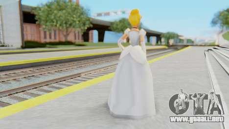 Cinderella para GTA San Andreas tercera pantalla