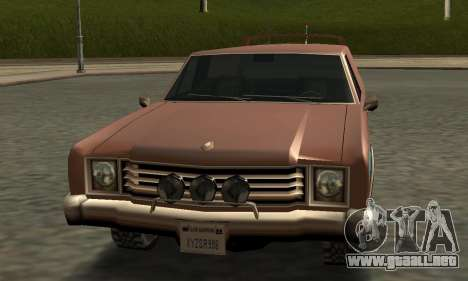 Picador Vagon Extreme para visión interna GTA San Andreas