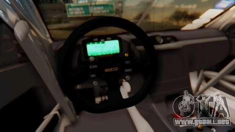 Maserati Gran Turismo Tron para vista lateral GTA San Andreas