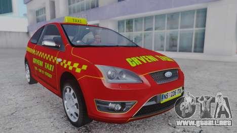 Ford Focus ST Taxi para GTA San Andreas