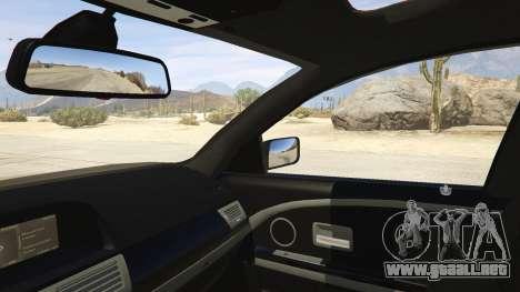 GTA 5 BMW 760i E65 vista lateral trasera derecha