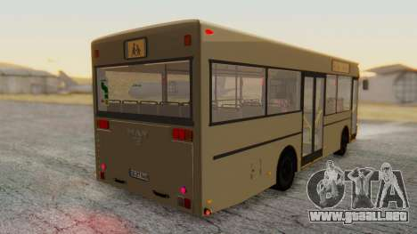 MAN NM 222 para GTA San Andreas left