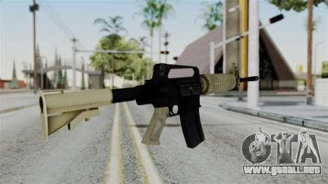 M16 A2 Carbine M727 v3 para GTA San Andreas segunda pantalla