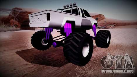 GTA 5 Karin Rebel Monster Truck para GTA San Andreas left