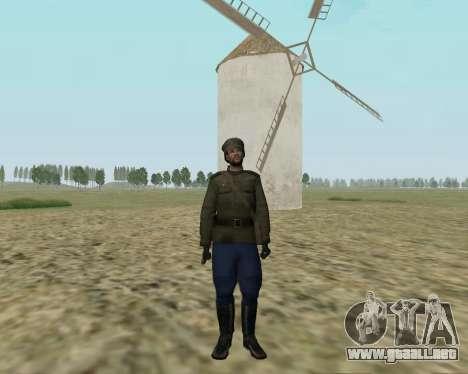 La colección de Soldados del ejército rojo para GTA San Andreas