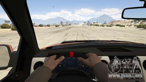GTA 5 Ford Velociraptor 1500 hp vista trasera