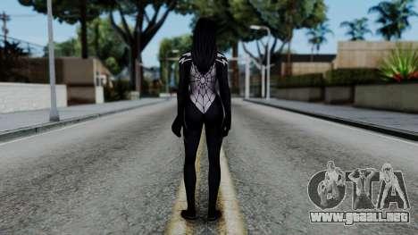 Marvel Future Fight - Silk v1 para GTA San Andreas tercera pantalla