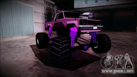 GTA 5 Karin Rebel Monster Truck para la vista superior GTA San Andreas