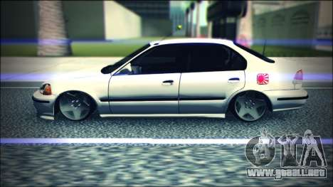 Honda Civic by Snebes para GTA San Andreas left