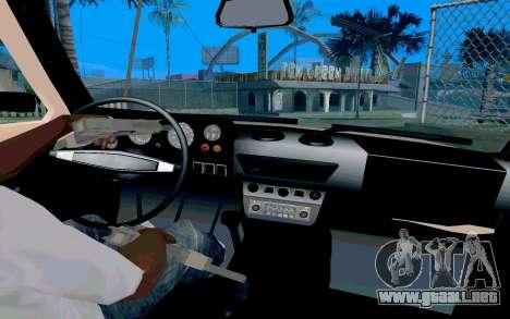 VAZ Niva para GTA San Andreas vista hacia atrás