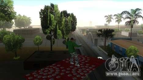 Cleo Mod San Andreas para GTA San Andreas quinta pantalla