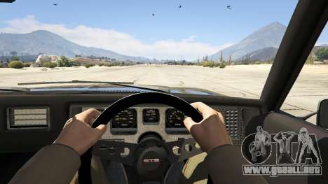 GTA 5 Holden HQ GTS Monaro vista trasera
