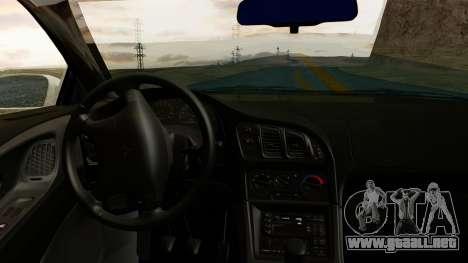 Mitsubishi Eclipse GST 1995 para la visión correcta GTA San Andreas