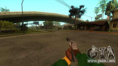 La primera persona a la v3.0 para GTA San Andreas novena de pantalla