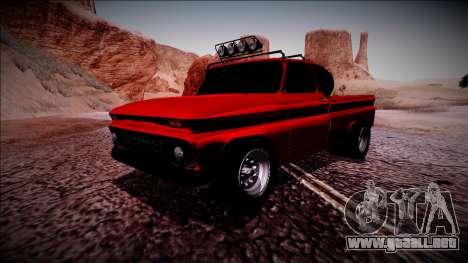 Chevrolet C10 Rusty Rebel para GTA San Andreas left