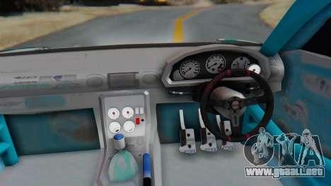 Nissan Silvia s15 Itasha [EDE-Crew] para GTA San Andreas vista hacia atrás