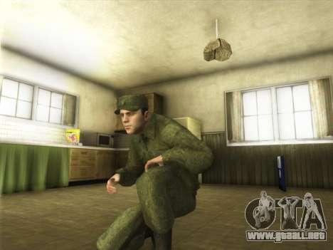 El Ordinario Ejército Moderno De Rusia para GTA San Andreas sucesivamente de pantalla