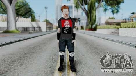 Sheamus Casual para GTA San Andreas segunda pantalla