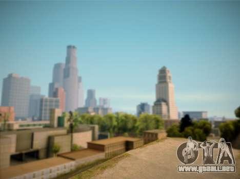 ENB GreenStyle V7.1 para GTA San Andreas sucesivamente de pantalla
