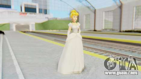 Cinderella para GTA San Andreas segunda pantalla