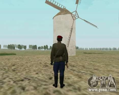 La colección de Soldados del ejército rojo para GTA San Andreas tercera pantalla