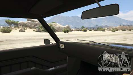 GTA 5 Holden HQ GTS Monaro vista lateral trasera derecha