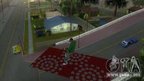 Cleo Mod San Andreas para GTA San Andreas sucesivamente de pantalla