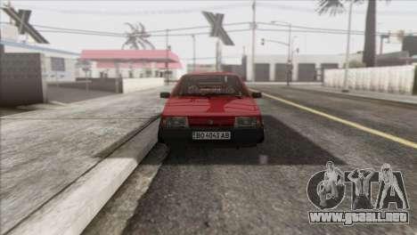 VAZ 2108 DropMode para GTA San Andreas vista hacia atrás
